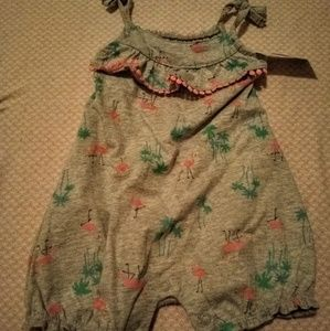 NWT Thin Strapped Romper 6M